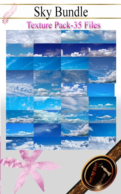 •Sky Bundle Texture Pack•