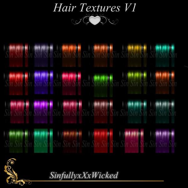 Hair Textures V2