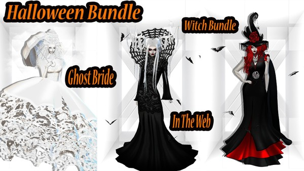 🎃 Bundle & Save 🎃 22 Items Included ( The Witch, Mrs Ghost & InTheWeb)