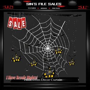 Spiderweb Curtain Mesh