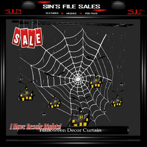 Spiderweb Curtain Mesh