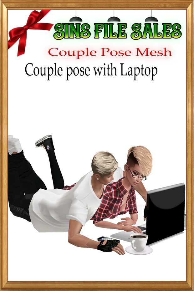 Couple Pose with Laptop *CKHN