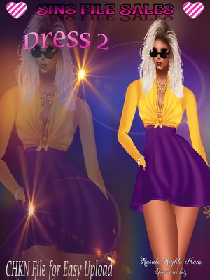 Dress 2 *CHKN Included ( Click for Purchase Link $1.25)