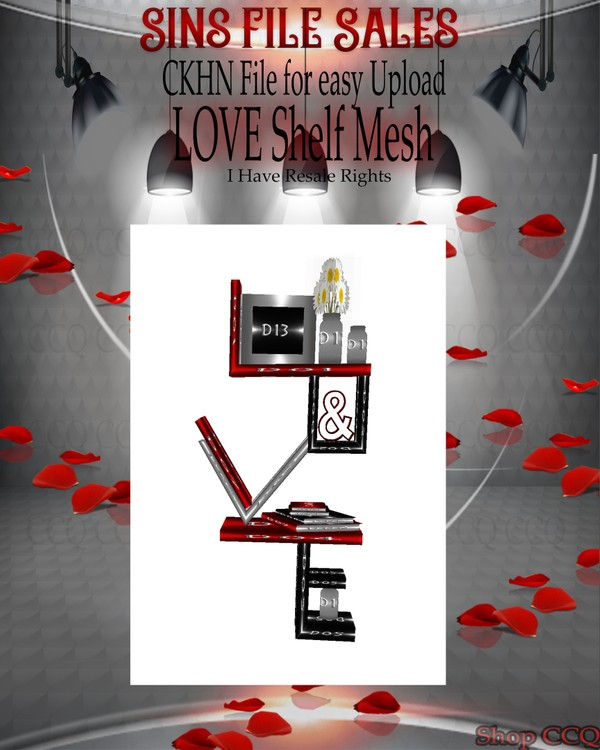 ♥Love Shelf Mesh*CHKN File