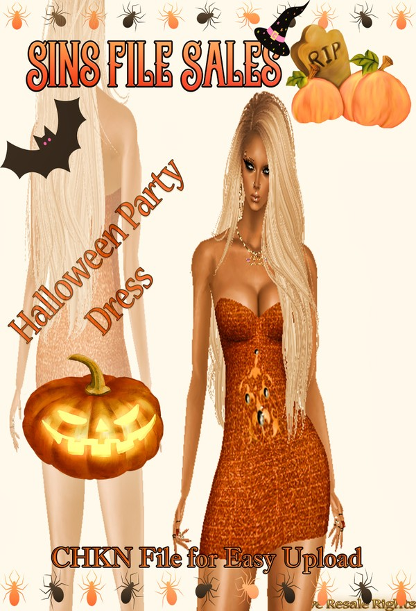 Halloween Party *Dress Freebie* CHKN