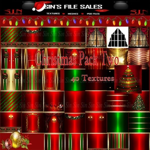 Christmas Textures Pack Two