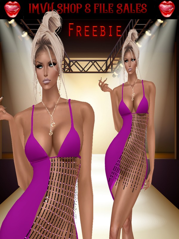 ♥Freebie♥ Purple Tease