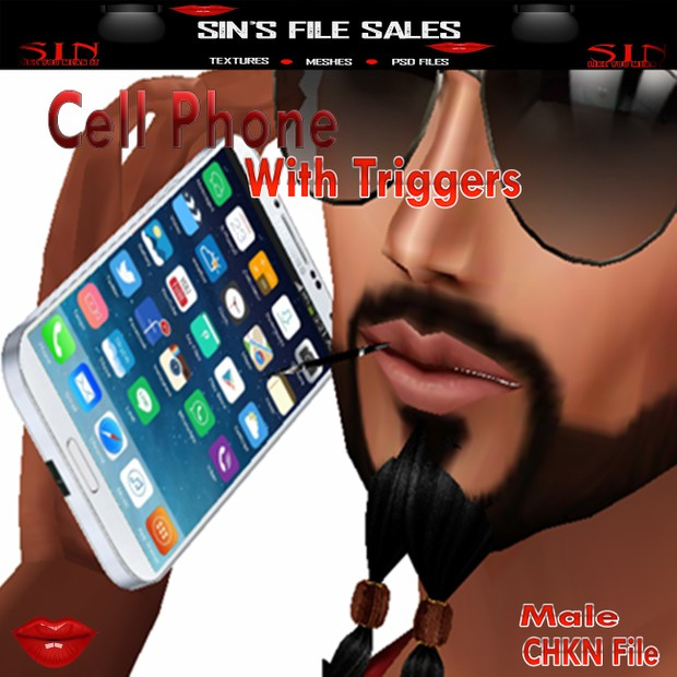 Cell Phone with Triggers * Male Version