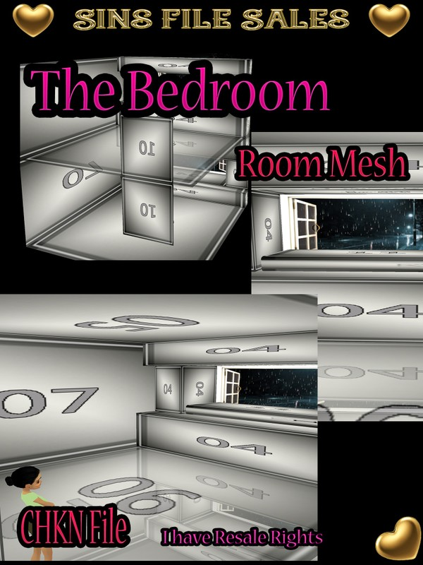 Cozy Bedroom Mesh