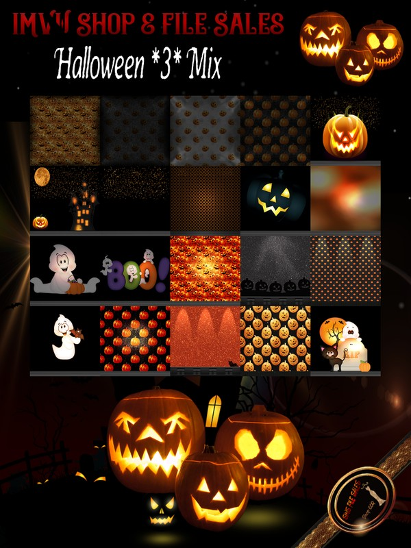 🎃 Halloween Texture Set #3 Mix🎃 2019