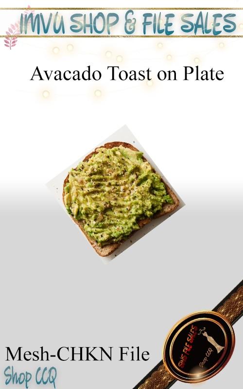Food Toast Mesh-CHKN