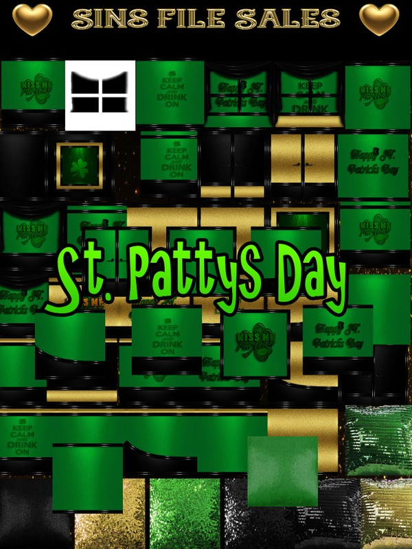 St. Patty's Day Texture Pack