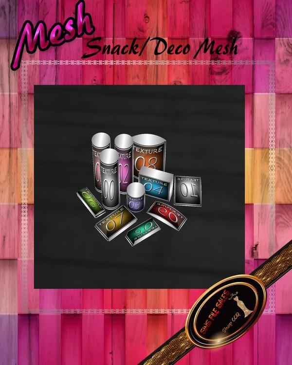 •Snack Mesh•CHKN File