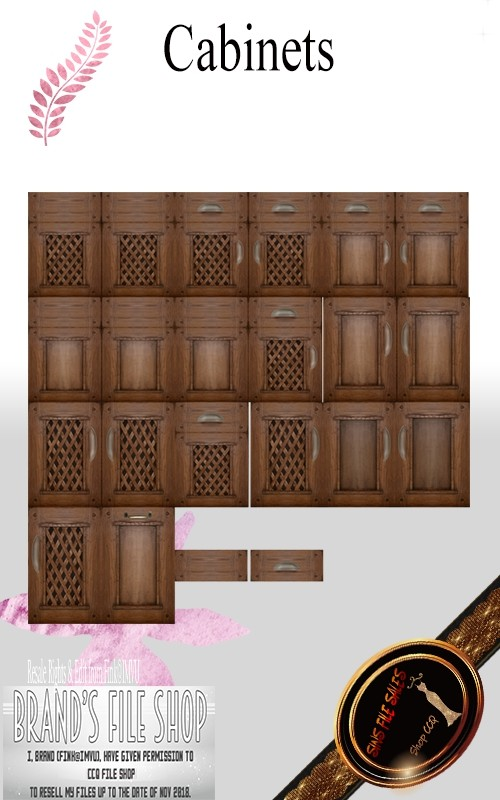○Cabinet Texture Pack○