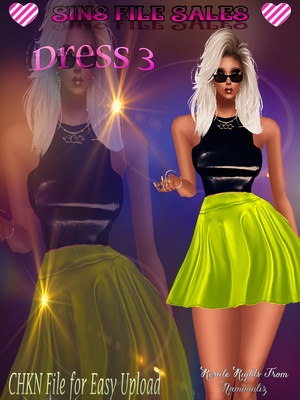 Dress 3 *CHKN Included( Click for Purchase Link $1.25)