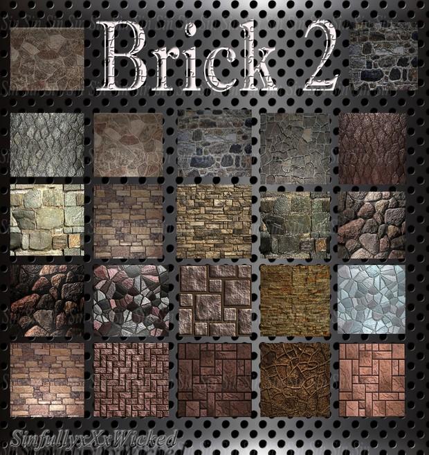 Brick Pack 2 (22 files)