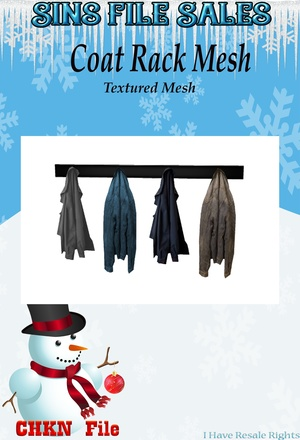 Coat Rack Mesh (CHKN)