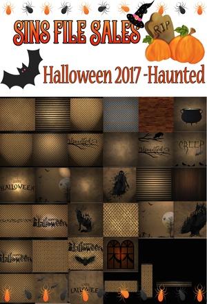 Haunted Halloween Textures 2017