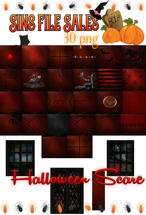 Halloween Scare Texture Pack