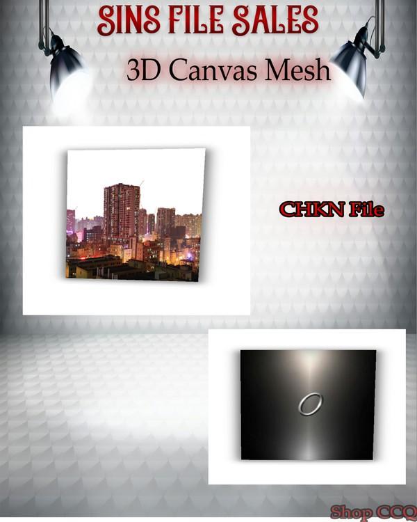 •Canvas 3D Mesh•