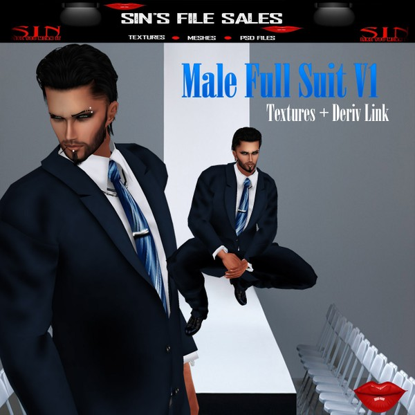 Mens Full Suit Vi