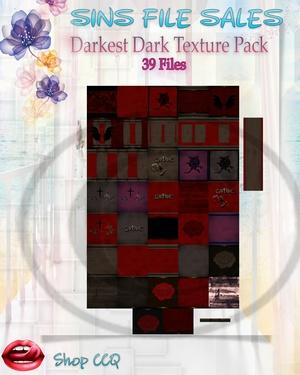 •Darkest Dark Texture Pack•