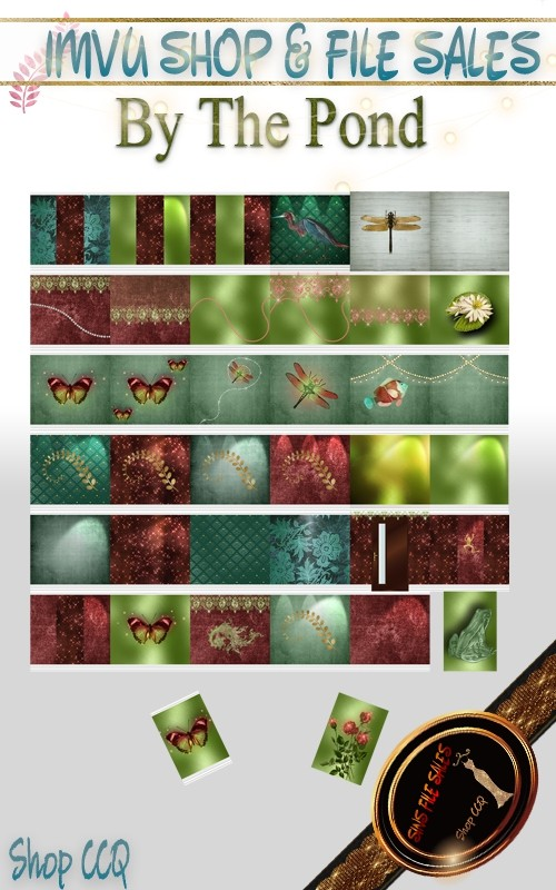 By The Pond Texture Pack- 38 Files