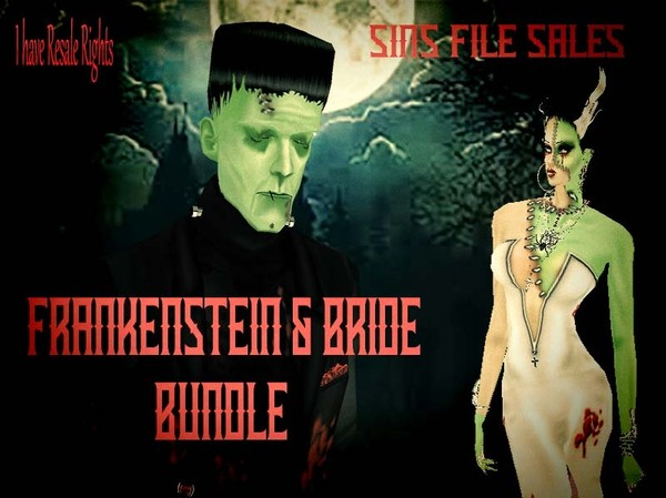 Frankenstein & His Bride Bundle