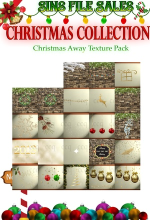 Christmas Away Texture Pack