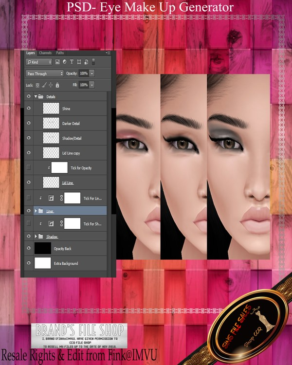 •Eye Makeup Generator•