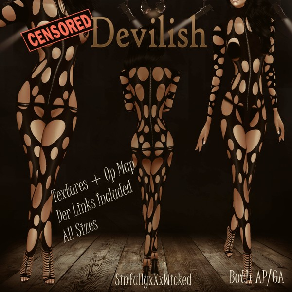 Devilish Outfit (GA/AP files)