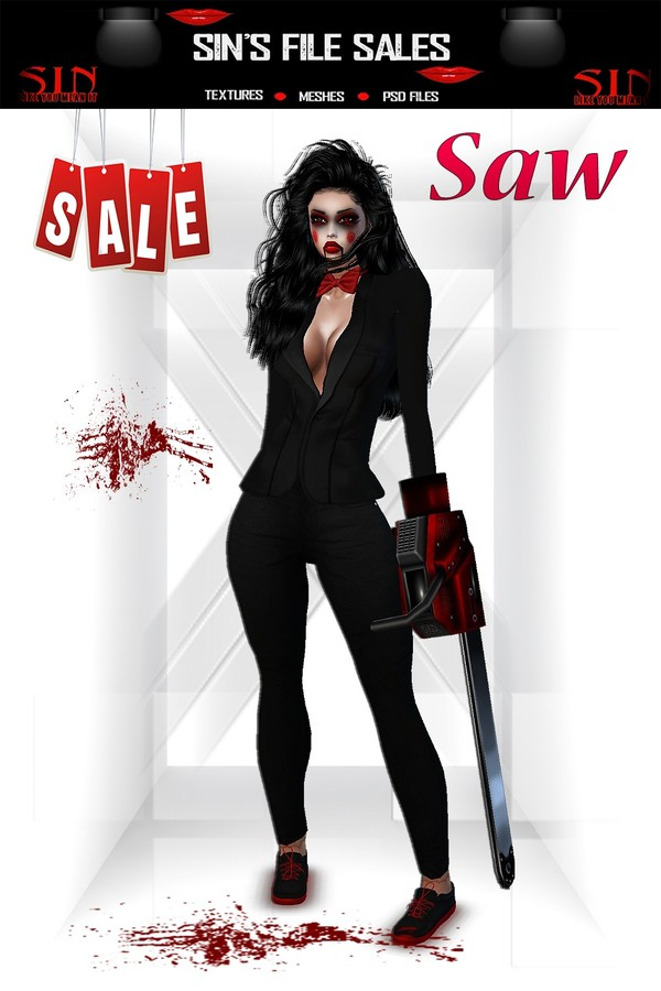 Saw Halloween Outfit Bundle