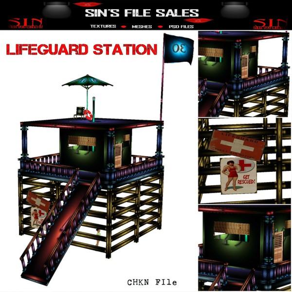 Life Guard Station Mesh