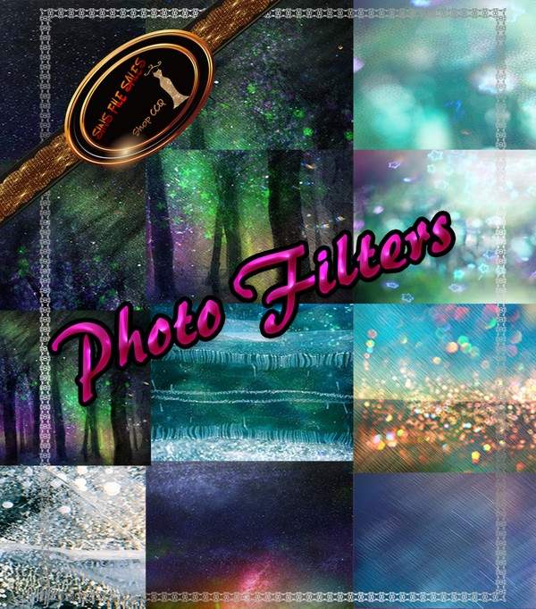 •Photo Filter/Overlay Set•High Quality