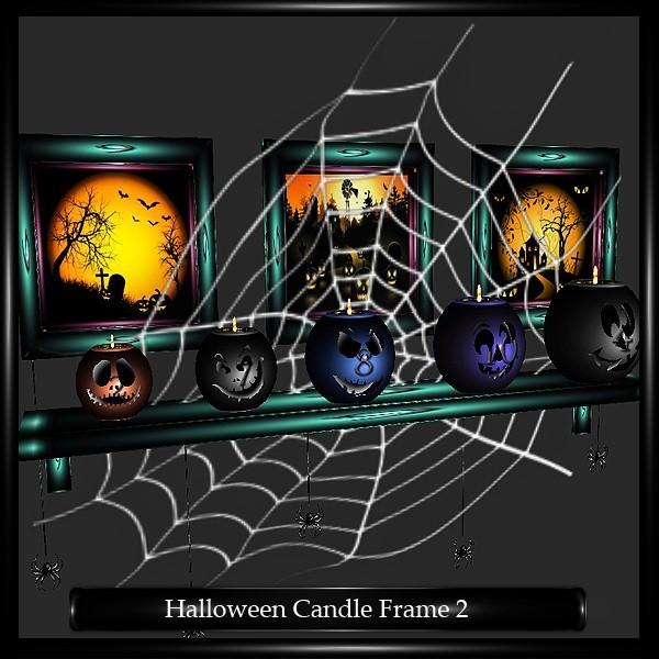 Spider Candle Frame Mesh V2