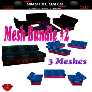 Mesh Bundle #2* 3 Meshes