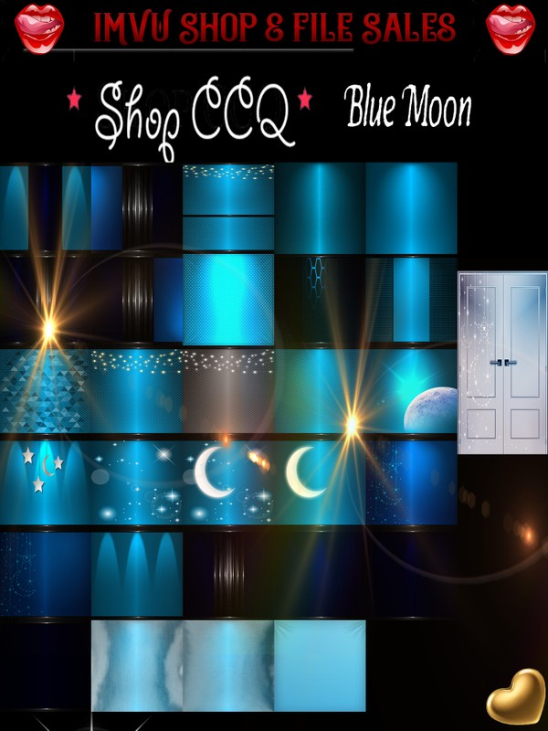 ◘Blue Moon Texture Pack• 30 Files