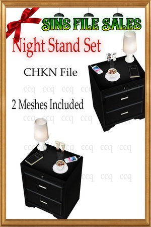 Night Stand Set *2 Meshes