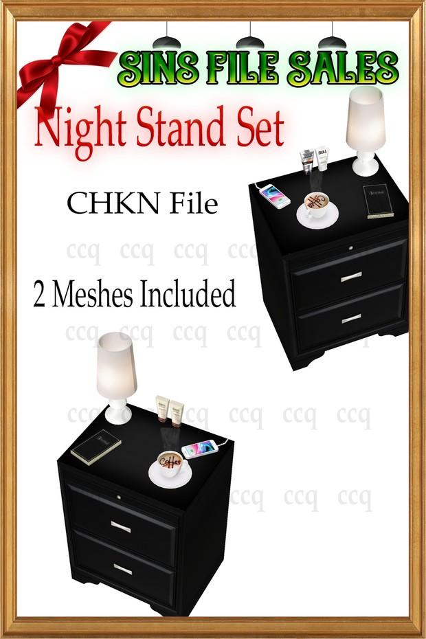 Night Stand Set *2 Meshes