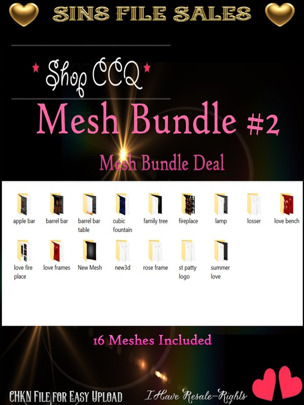 Mesh Bundle #2 * 2017