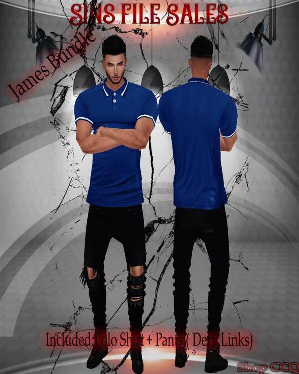 ◘James Bundle◘ (Polo Shirt+Jeans)