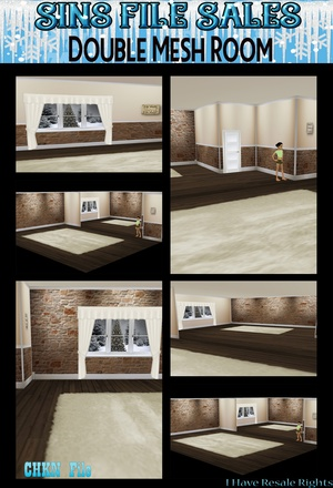 Room Mesh + Texture Pack (CHKN)