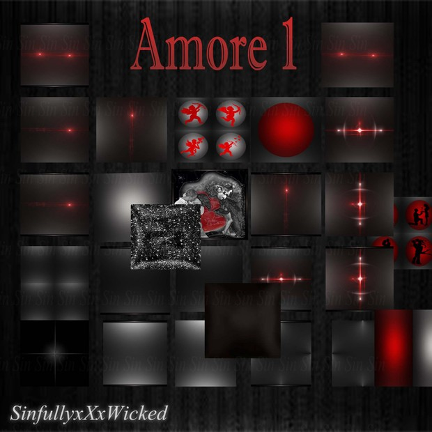 Amore 1 ( 26 Textures)