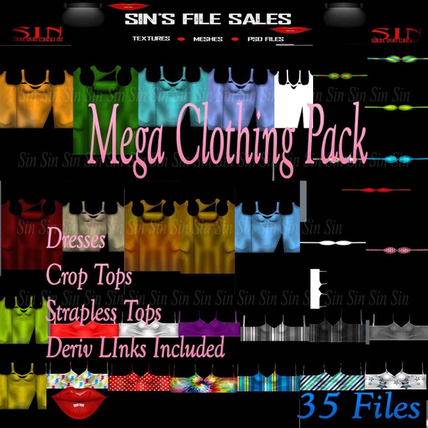 Mega Clothing Bundle