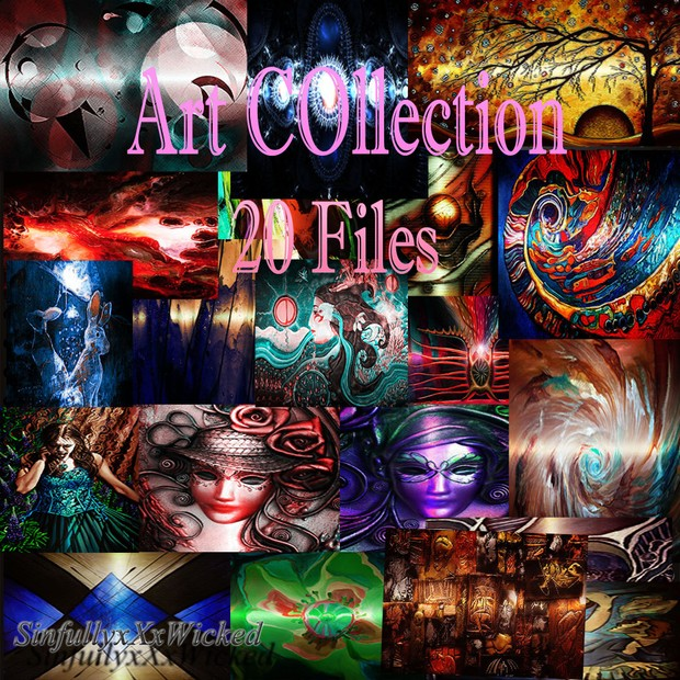 Art Collection 2 (20 Files)