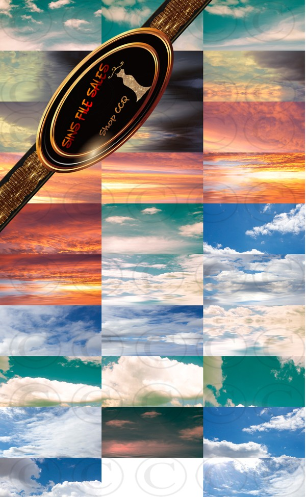 •Sky Texture Set• 30 Files