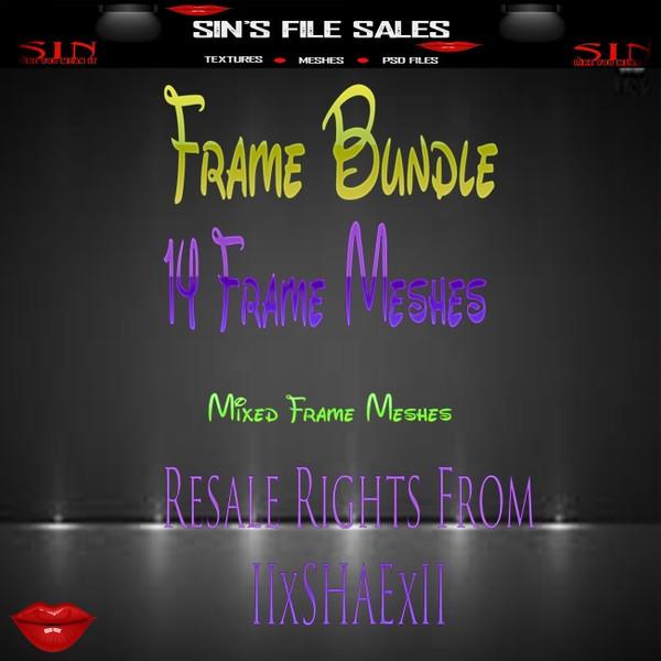 Frame Mesh Bundle *14 Frame Meshes