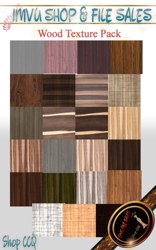 Wood Texture Set- 30 Files