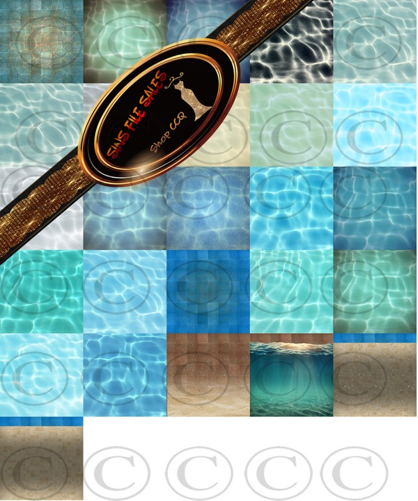 •Pool Set Textures•26 Files
