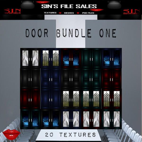 Door Texture Pack One (20 files/images)